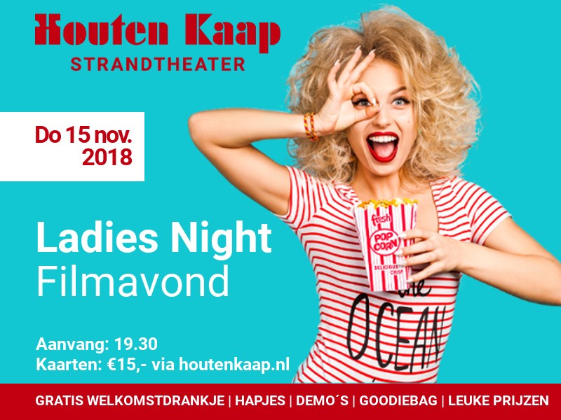 Aankondiging Ladies Night